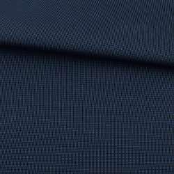 Ткань ПВХ 600D черная в синюю точку, ш.155