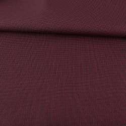 Ткань ПВХ 600D черная в красную точку, ш.157