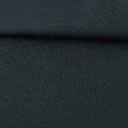 Ткань ПВХ 600D черная в зеленую точку, ш.156