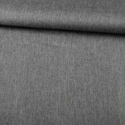 ПВХ тканина оксфорд льон 300D сірий темний, ш.150