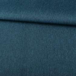 ПВХ тканина оксфорд льон 300D бирюзовий темний ш.150