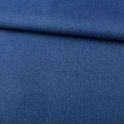 ПВХ тканина оксфорд льон 300D синій ш.150