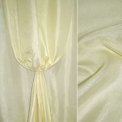 Рогожка молочно-лимонная ш.150