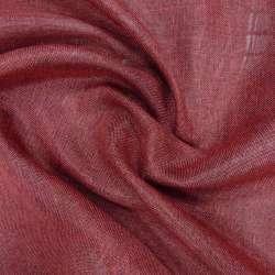 Рогожка вишневая ш.145