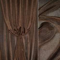 Рогожка темно-коричнева ш.150