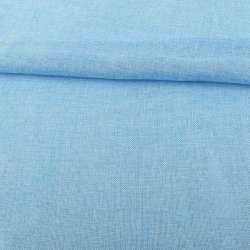 Рогожка деко голубая меланж ш.150