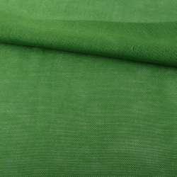 Рогожка деко зеленая яркая ш.150