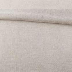 Рогожка деко сріблясто-молочна, ш.150