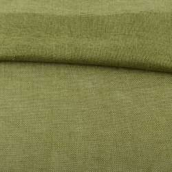 Рогожка деко оливково-зелена, ш.150