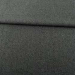 Рогожка деко меланж сіра темна, ш.150
