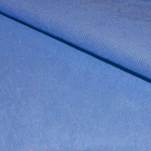 Флизелин неклеевой (спанбонд) голубой, плотность 60, ш.160