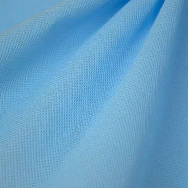 Флизелин неклеевой (спанбонд) голубой, плотность 80, ш.160