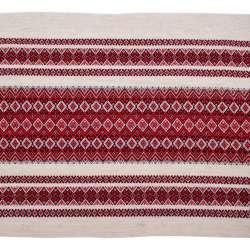 Ткань с украинским орнаментом Рандеву, раппорт 49см, ш.150