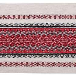 Тканина з українським орнаментом Містраль, раппорт 23см, ш.150
