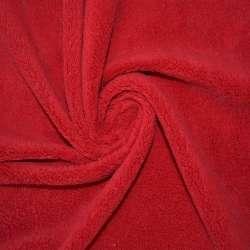 Велсофт-махра одностороння червона