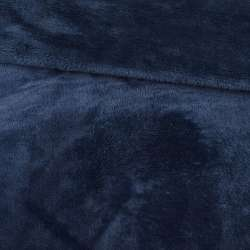 Велсофт двухсторонний синий темный, ш.195
