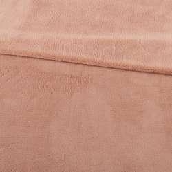 Велсофт двухсторонний бежево-розовый, ш.180