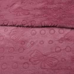 Велсофт двухсторонний с тиснением бабочки фрез, ш.200