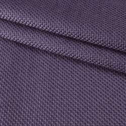 Рогожка джутовая интерьерная фиолетовая ш.130