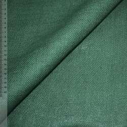 Мешковина джутовая зеленая
