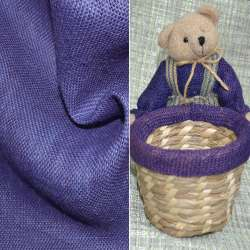 Мешковина джутовая фиолетовая ш.130