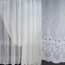вуаль белая с вышивкой ш.275