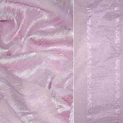 вуаль креш рожева в смужку