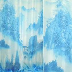 вуаль фото блакитна гори і ліси ш 270