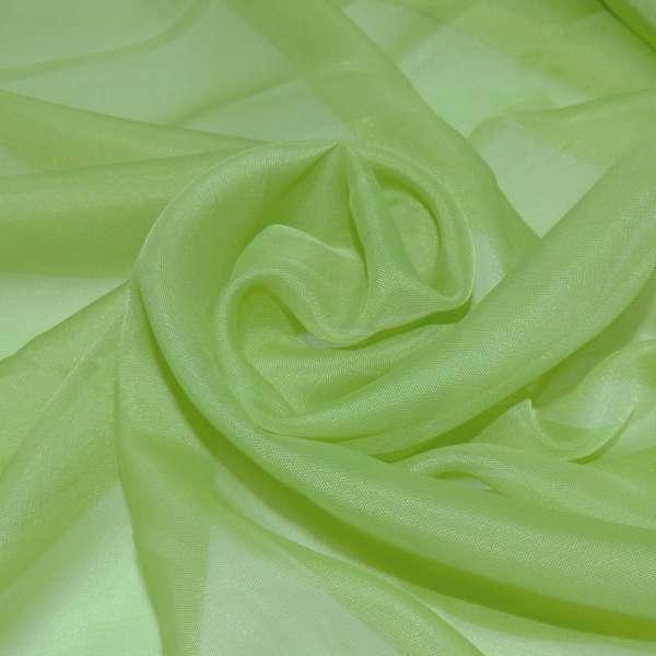 вуаль гладкая ярко- зеленая ш.280