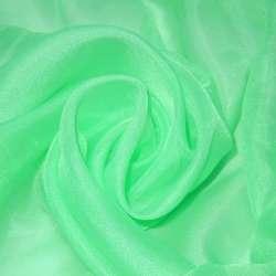 вуаль гладкая зеленая мята ш.276