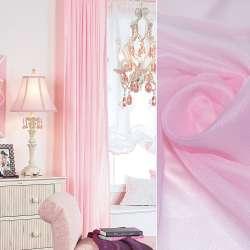 вуаль гладка блідо-рожева ш.280