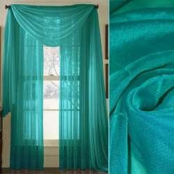 вуаль гладкая сине-зеленая ш.280