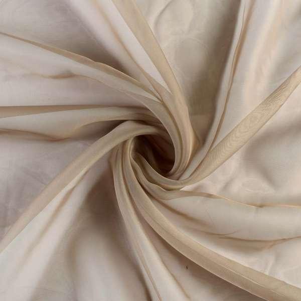 Вуаль коричневая светлая, ш.300