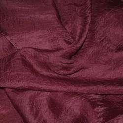 Вуаль креш бордовая ш.280