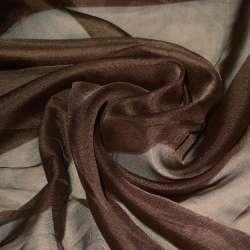 вуаль гладкая коричневая ш.280