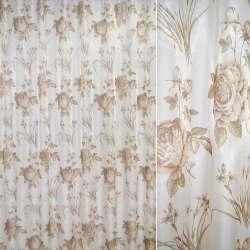 Кристаллон мол.-розов.с розами и букет. цветов ш.265