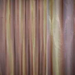 """Крісталлон золотисто-теракотовий """"веселка"""" ш.270"""