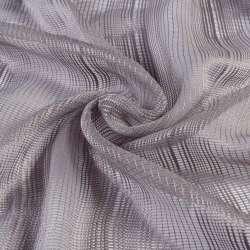 Сітка гардинна сіра з фіолетовим відтінком, ш.280