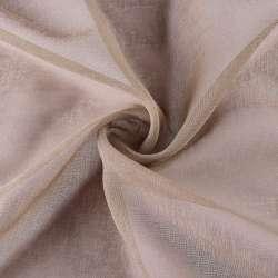 Лен французский коричневый бледный ш.280