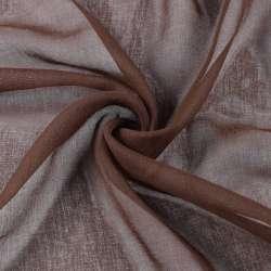 Льон французький коричневий з рудим відтінком, ш.280
