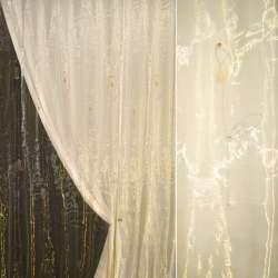 Органза  золотая  с  высок.  желт.  цвет.
