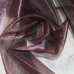 Кристалл-органза бордовая темная хамелеон ш.280