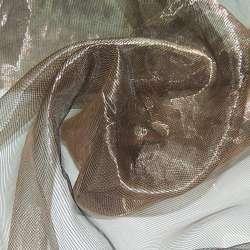 Кристалл-органза шоколад хамелеон ш.280