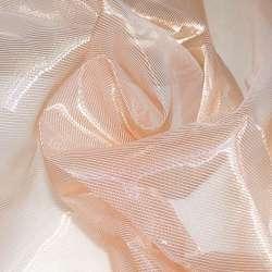 Кристалл-органза розово-коричневая хамелеон ш.280