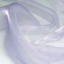 Мусс-органза сиренево-фиолетовая ш.275