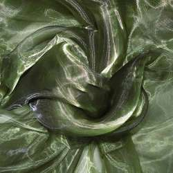 Органза зеленая темная ш.280