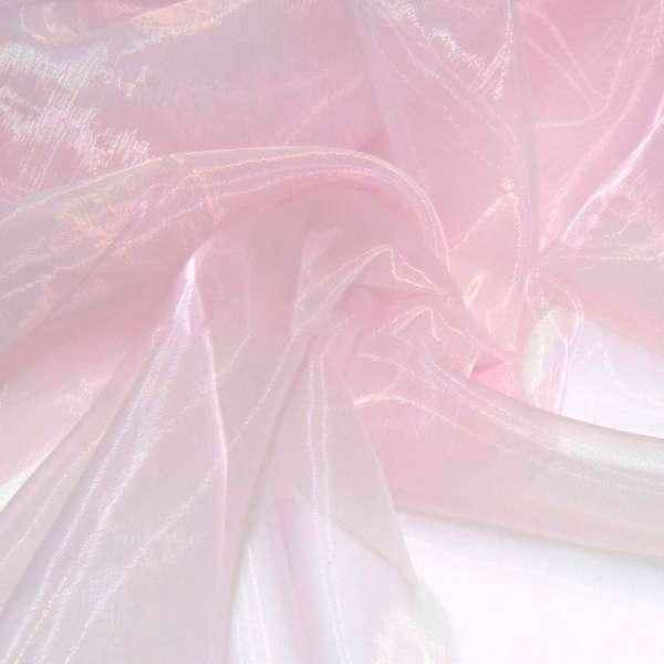 Органза розовая ш.280