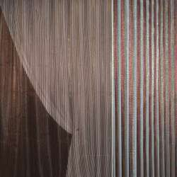 органза коричневая темно-бордов. атлас. полос.