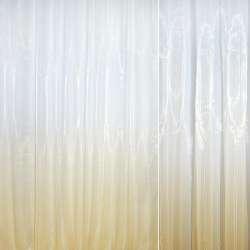 Органза-радуга бело-кремовая ш.275