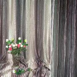 "атлас жатый коричнево-бежевый с  розов. ""радуга"" ш.275"